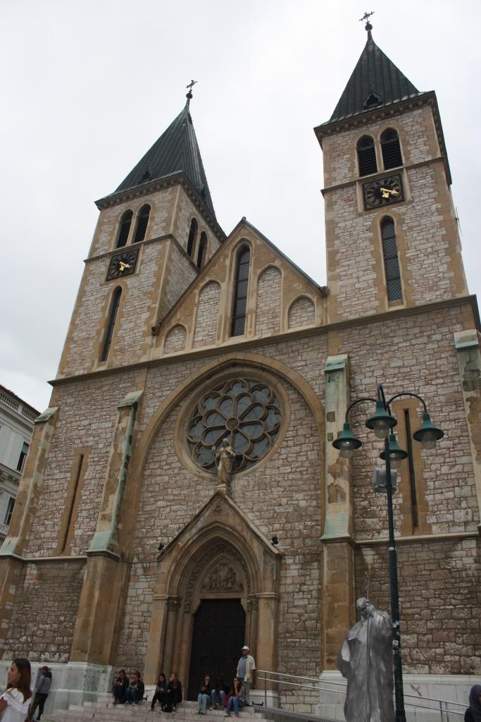 Cathedral in Sarajevo