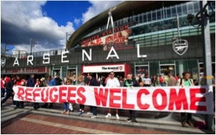 arsenal refugees welcome